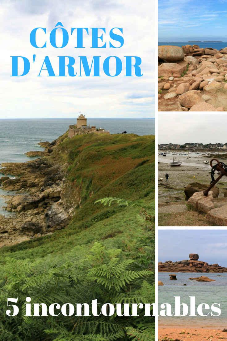 5 incontournables à visiter dans les Côtes d\'Armor par la Team Ballet