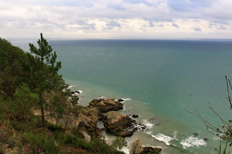 Randonnée autour de la Presqu'ile de Crozon - Entre Crozon et le Cap de la Chevre