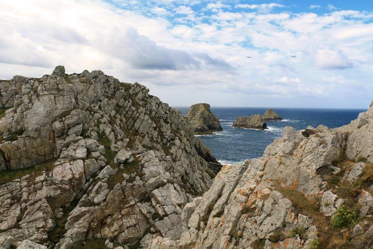 Randonnée autour de la Presqu'Ile de Crozon - Les Tas de Pois