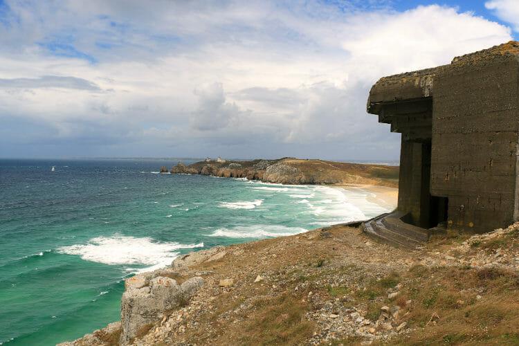 Randonnée autour de la Presqu'ile de Crozon - Plage et Bunker
