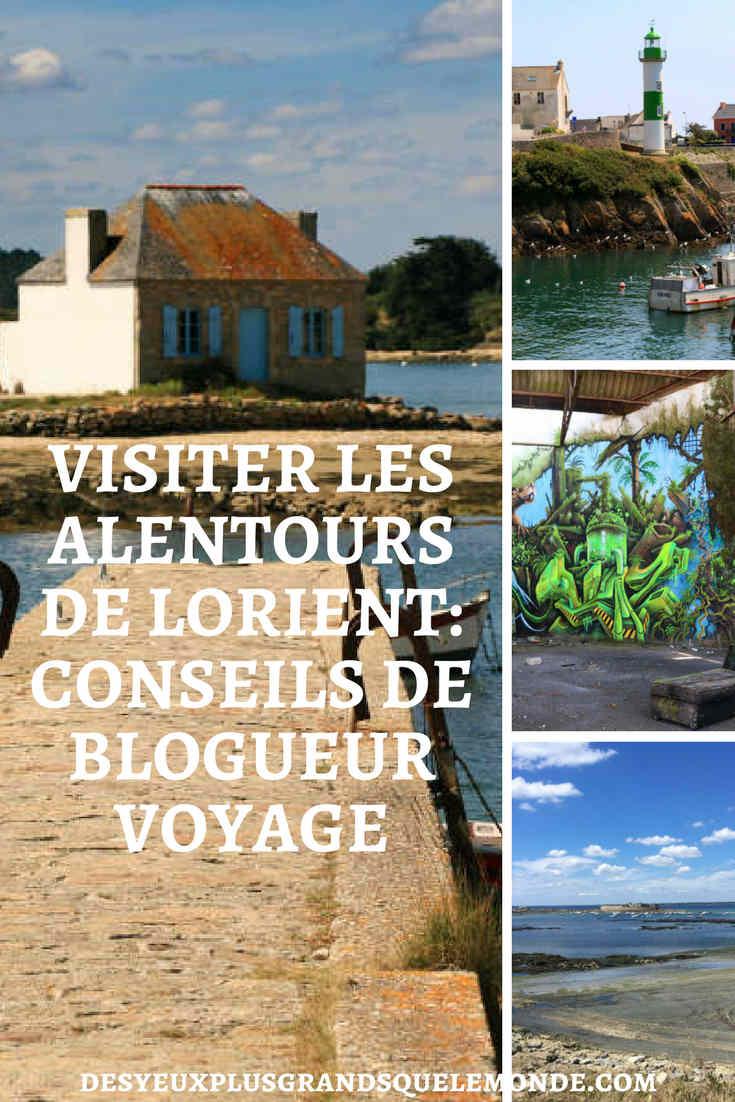 Visiter les alentours de Lorient : conseils de Blogueur Voyage