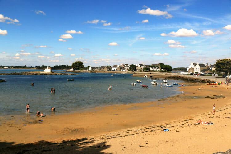 Visiter les alentours de Lorient - Paysage de Saint Cado