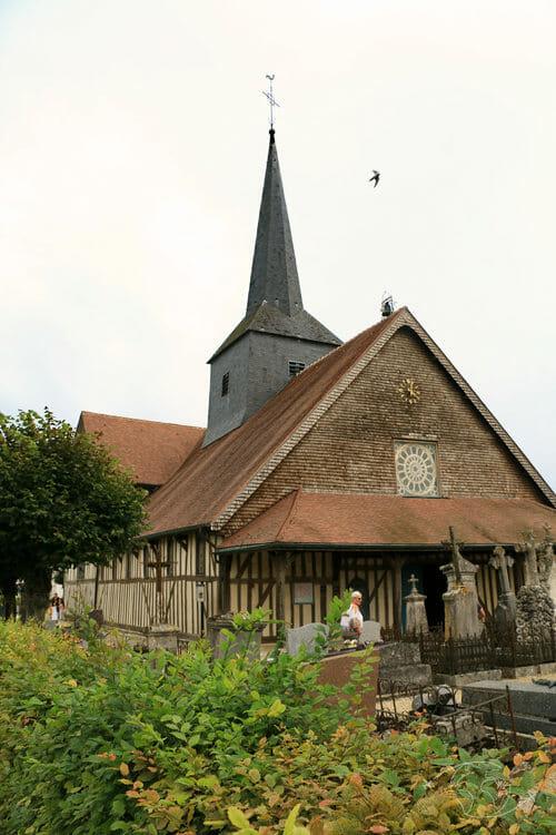 Autour du Lac du Der - Eglise d'Outines