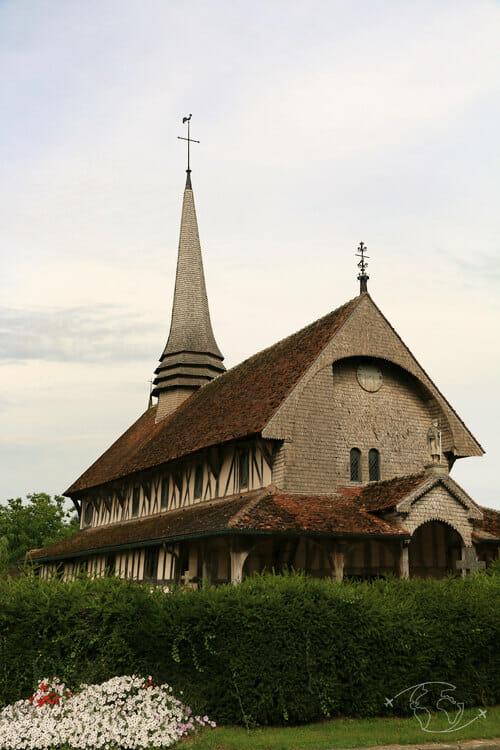 Autour du Lac du Der - Eglise de Lentilles
