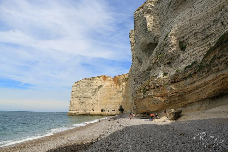 Falaises d'Etretat - De la plage d'Antifer à la première cavité
