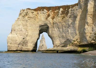 L'angle de vue qui fait la renommée des falaises d'Etretat