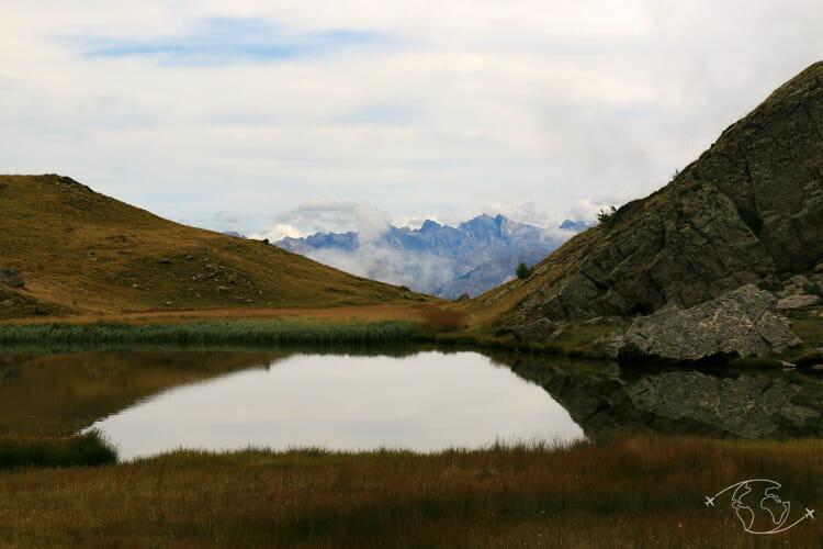 Tour de France - Lac de L'Hivernet - Hautes Alpes