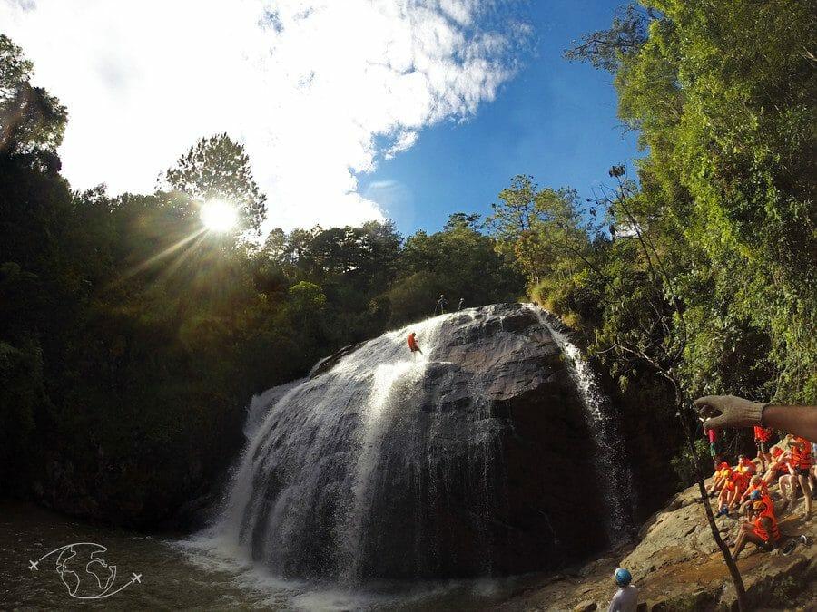 Dalat : mon expérience de canyoning à sensation au Vietnam
