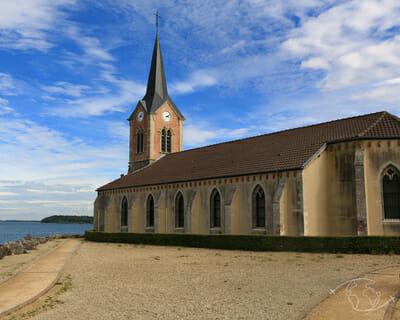 Villages engloutis du Lac du Der - Eglise de Champaubert
