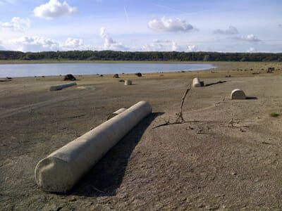 Villages engoutis du Lac du Der - Traces des travaux