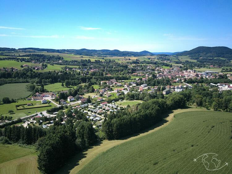Corcieux - Vosges - Vue du ciel