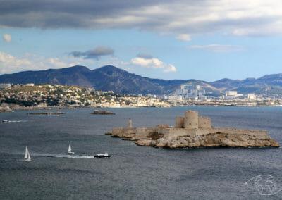 Îles du Frioul - L'île d'If et son château