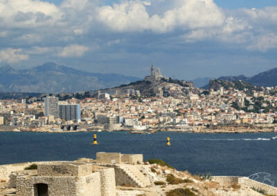 Îles du Frioul -Marseille du Fort de Ratonneau
