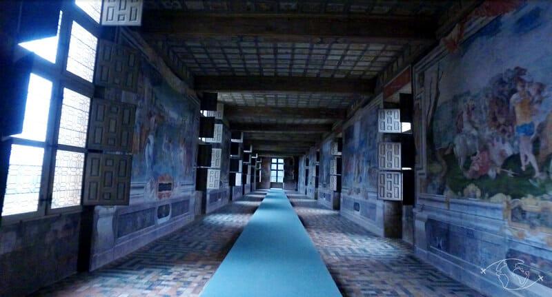Château d'Oiron - Salle des brûlures du soleil