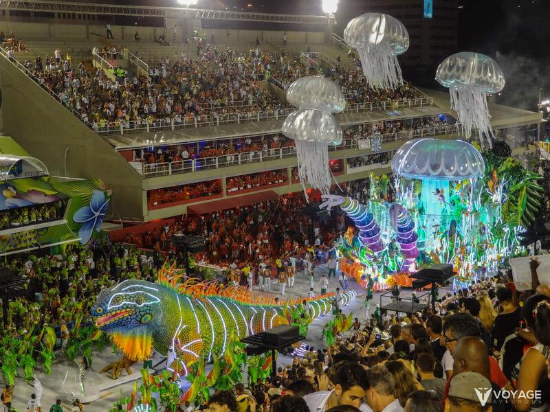 Sambodrome Carnaval Rio de Janeiro
