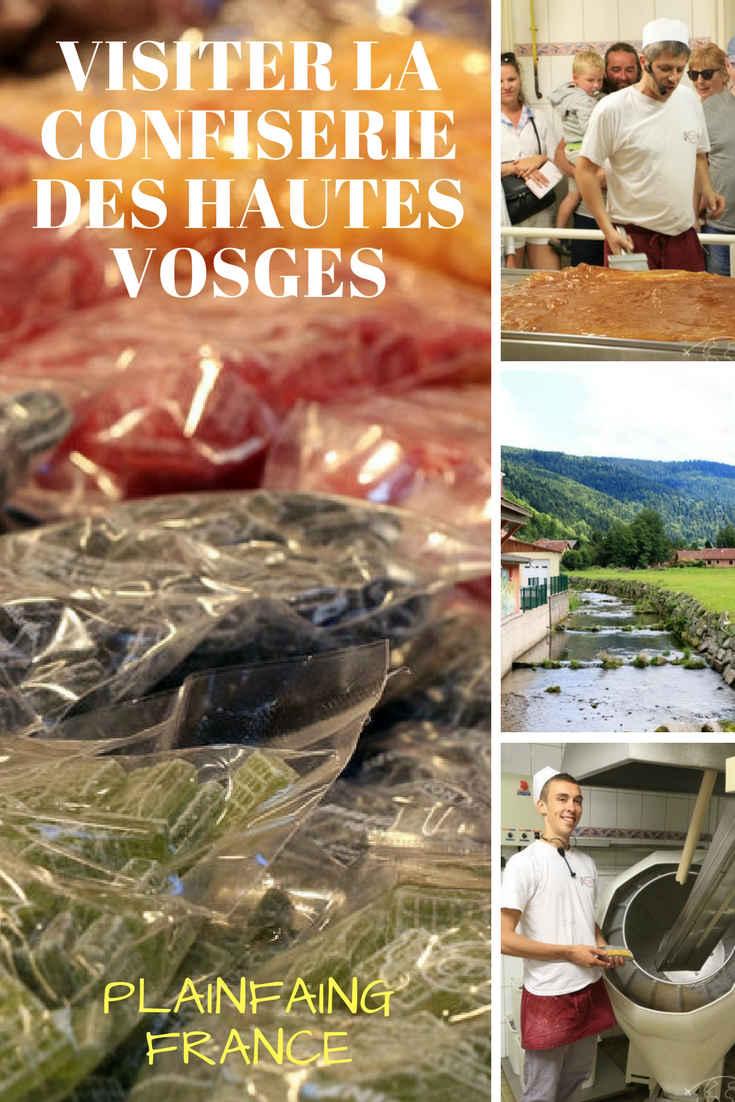 La Confiserie des Hautes Vosges (CDHV) à Plainfaing : une super visite d'entreprise du terroir ! Mon expérience, le déroulé de la visite, des infos et des photos.