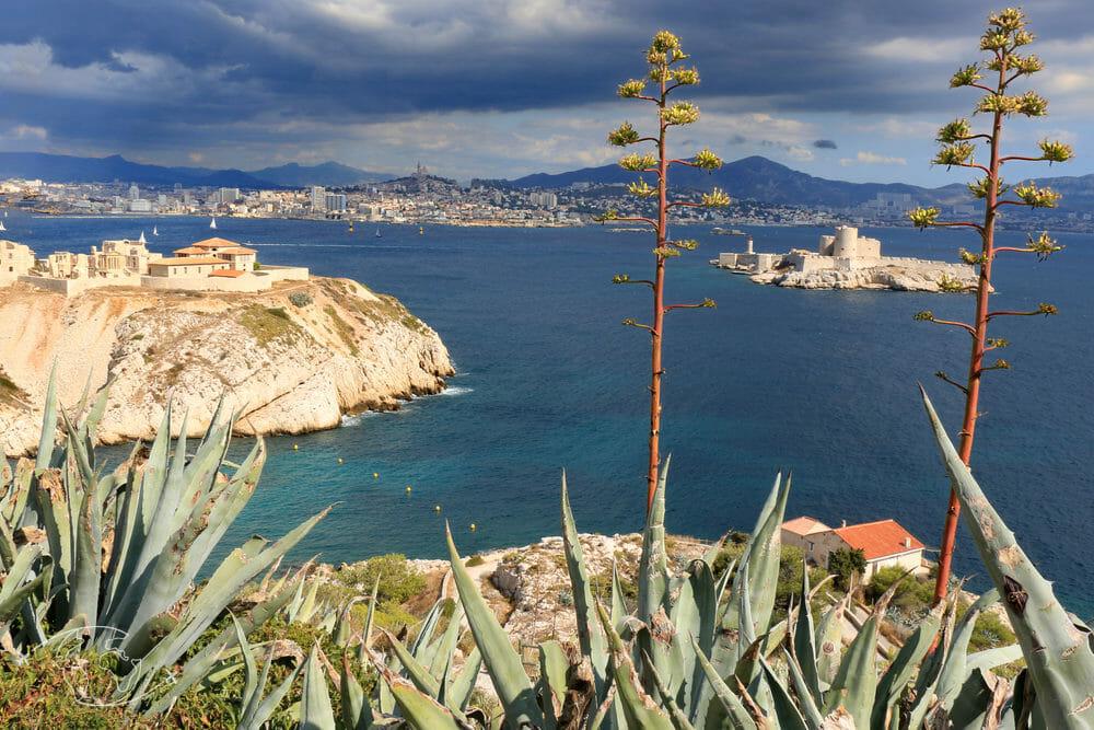 Que faire à Marseille - Vue de Marseille - Îles du Frioul