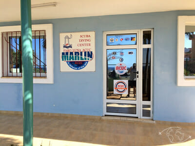 Plongée à Cuba - Devanture du centre de plongée Faro Luna - Rancho Luna - Cuba