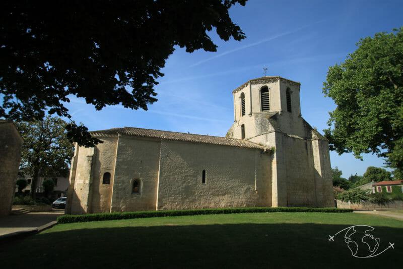 Randonner en Deux-Sèvres - Eglise de Germond Rouvre