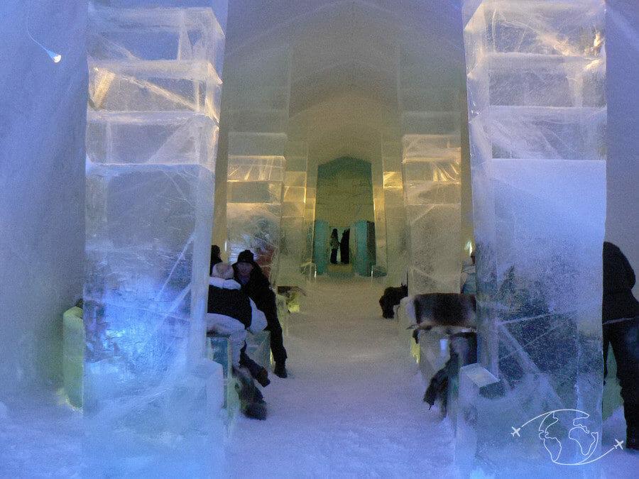 Grand Nord canadien - Château de glace de Kiruna