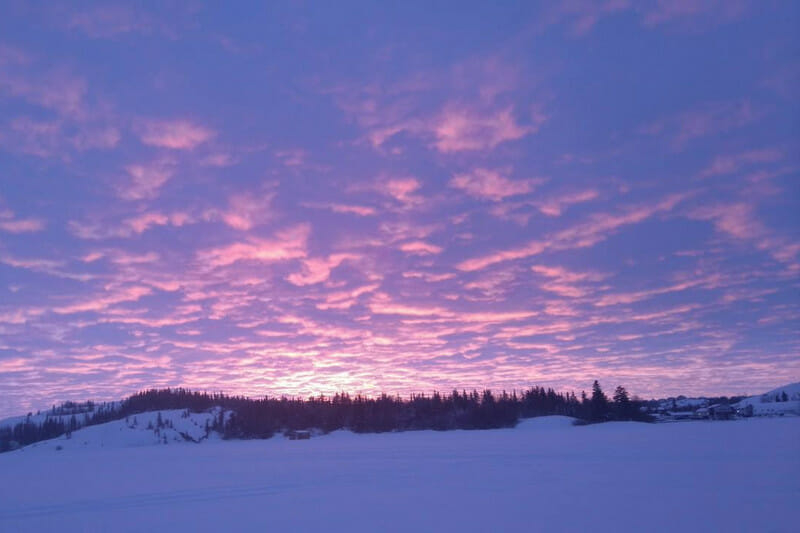 Mon aventure dans le Grand Nord - Paysage de Yellowknife