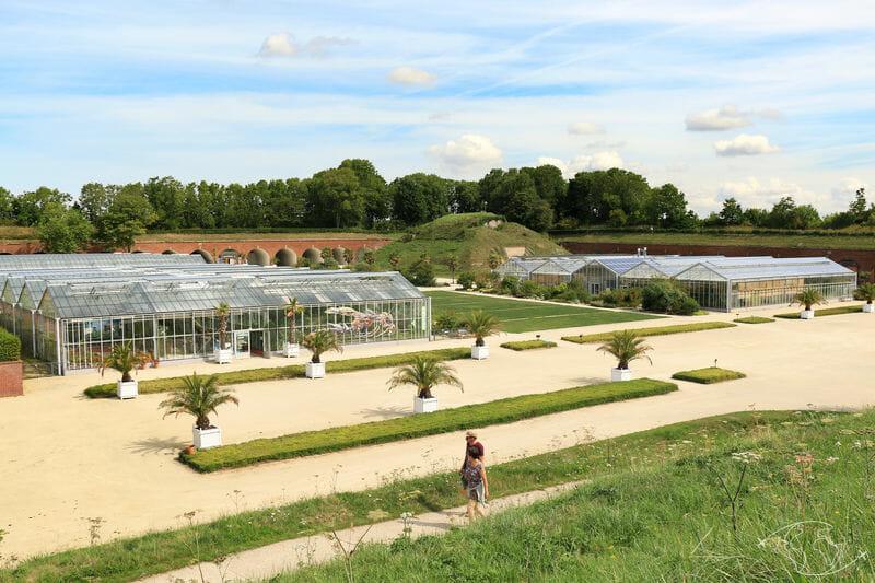Visiter Le Havre - Serres des Jardins Suspendus