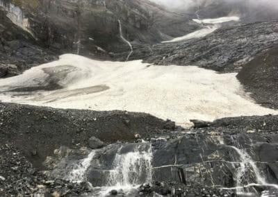 Tour des Dents Blanches - Glaciers avant Susanfe
