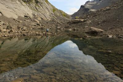 Tour des Dents Blanches - le Lac des Chambres - TDB