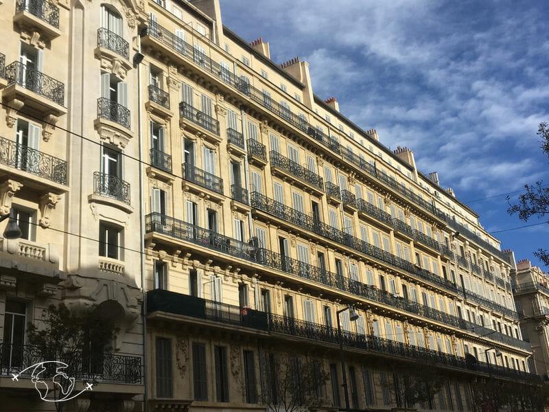 Que faire à Marseille - Architecture Avenue du Prado