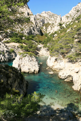 Que faire à Marseille - Calanque de Sugiton