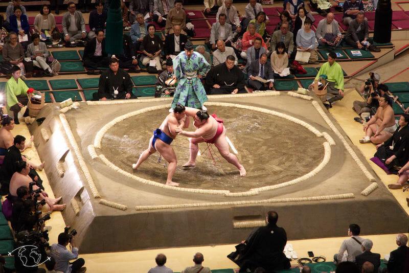 Sumo à Tokyo - Combat de Sumotori