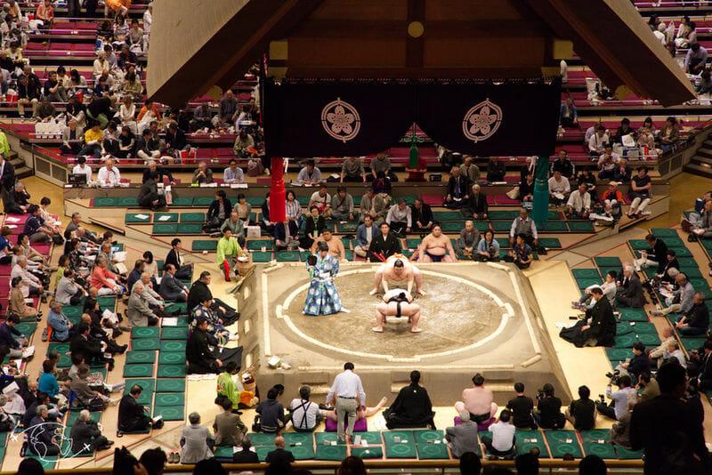Sumo à Tokyo - Combat de sumo