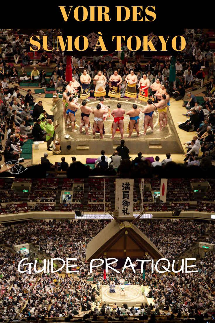 Comment voir des Sumo à Tokyo ? Le guide pratique