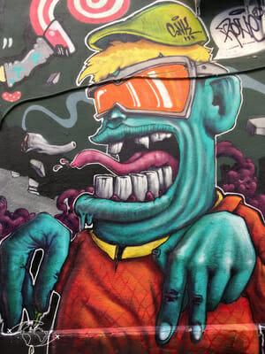 Que faire à Marseille - Cours Julien - Graffiti