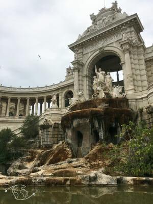 Que faire à Marseille - Fontaine du Parc Longchamp