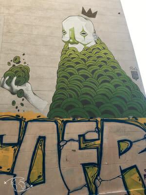 Que faire à Marseille - Graffiti - Cours Julien