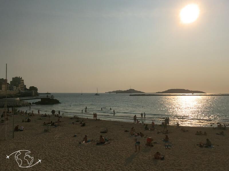 Que faire à Marseille - Plage des Catalans