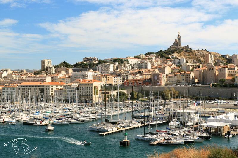 Que faire à Marseille - Vieux-Port et Bonne Mère de Marseille