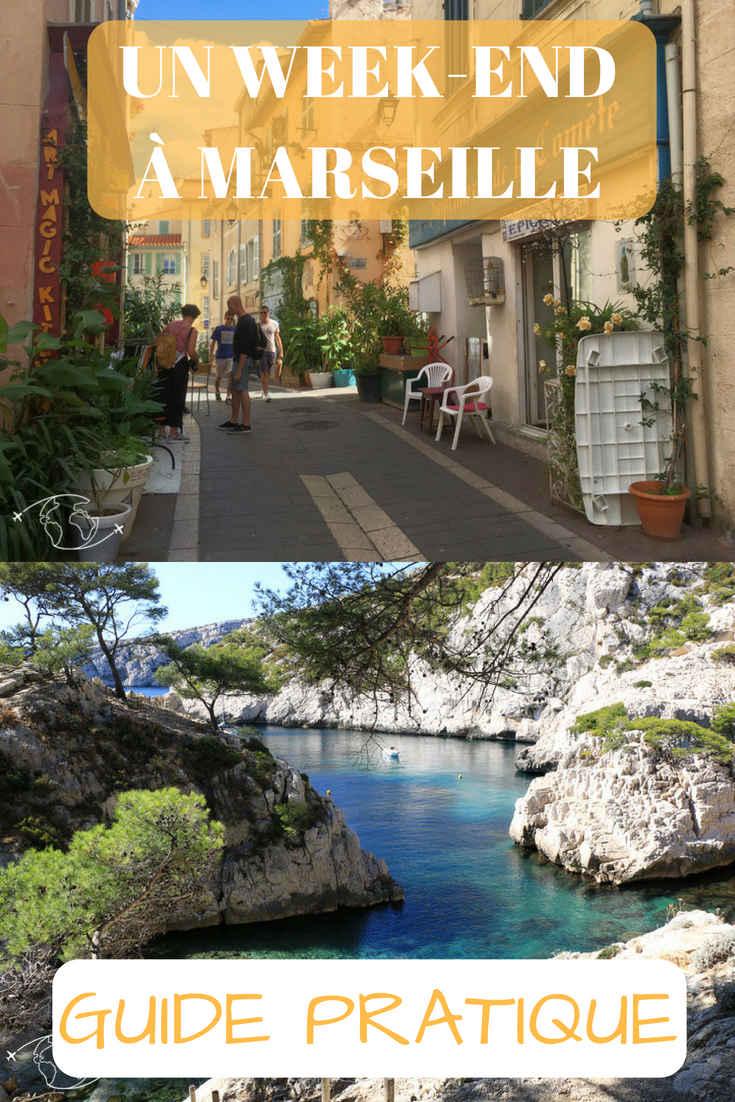 Que faire à Marseille ? Entre Balade Urbaine, Découverte de ses Ports, Plages, de ses Îles et ses fameuses Calanques, je vous fais découvrir mon Week-End idéal à Massilia.