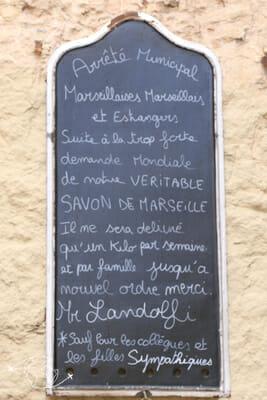 Que faire à Marseille - Savon de Marseille