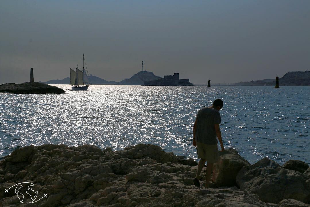 Que faire à Marseille - Vue du Vallon des Auffes