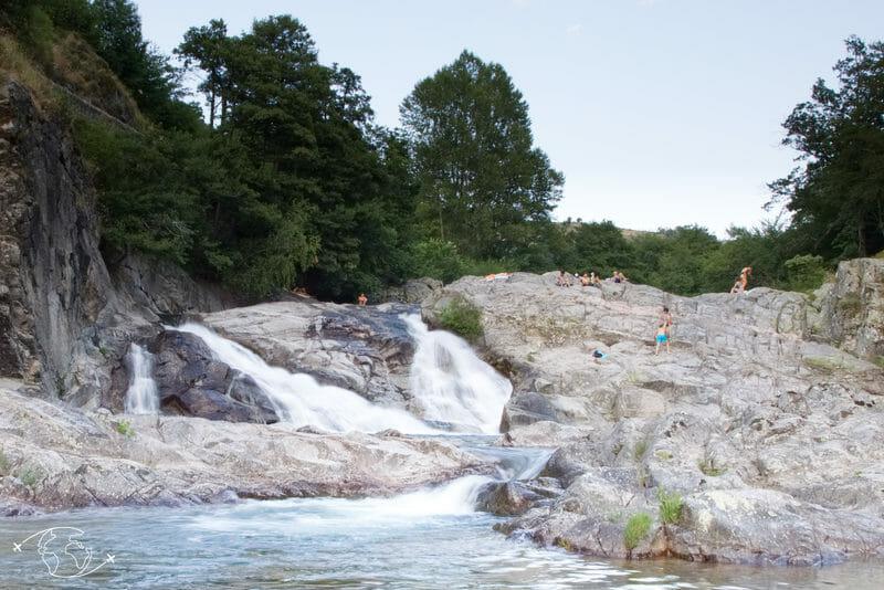 Chemin de Stevenson - Cascades de Pont de Montvert