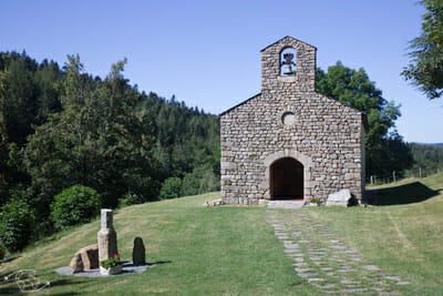 Chemin de Stevenson - Chapelle des voyageurs - Notre Dame des Neiges