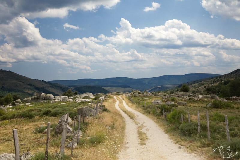Chemin de Stevenson - Chemin vers Pont de Montvert