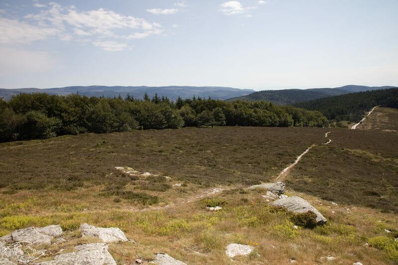 Chemin de Stevenson - Col des Trois Fayards