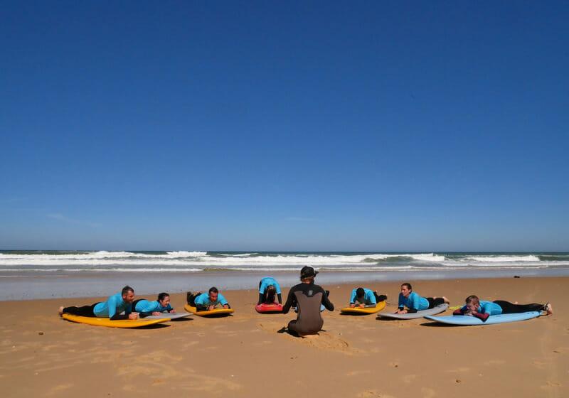 Cours de surf avec So Nice Surf School