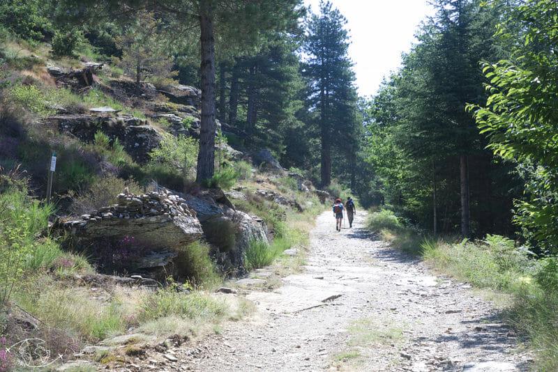 Chemin de Stevenson - Entre Cassagnas et St Germain de Calberte