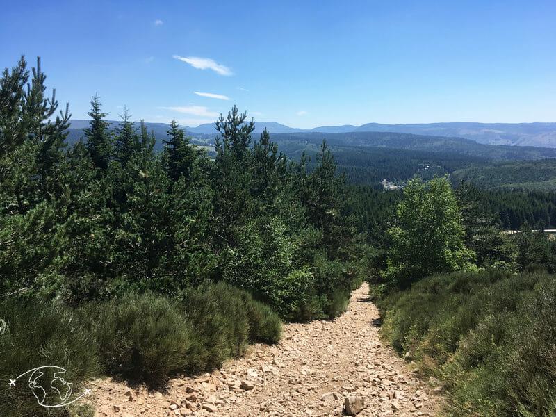 Chemin de Stevenson - Pierrier de la Bastide Puylaurent