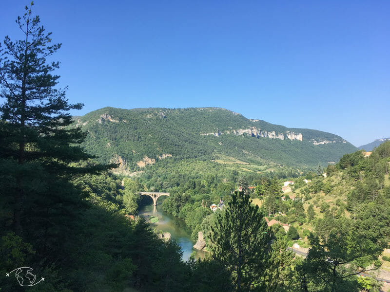 Gorges du Tarn - Pont du Rozier