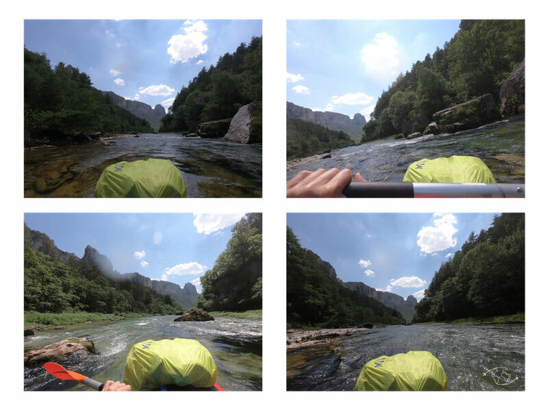 Quadri kayak - Gorges du Tarn